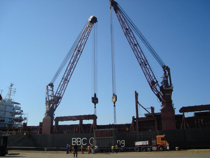 Cosmatos Shipping Services inaugurates new shore cranes in Thessaloniki Port