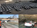 Shipping 315 vehicles from Greece to Egypt
