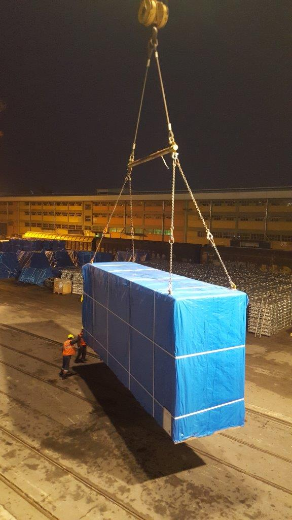 Project cargo for power plant in Slovenia